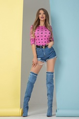 Alessa religion блузка - розова - Изображение 6