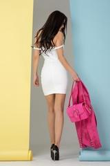 So hot they hate it bodycon рокля - бяла - Изображение 3