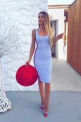 Лятна рокля по тяло Santorini seaside - Изображение 4