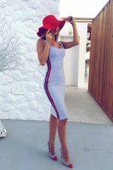 Лятна рокля по тяло Santorini seaside - Изображение 1