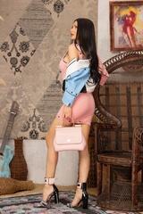 Addicted to me Рокля - Pink - Изображение 5
