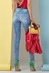 Easy to choose дънки - сини - Изображение 2
