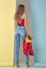 Easy to choose дънки - сини - Изображение 4