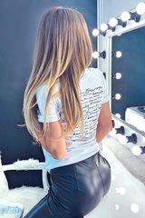 Eastern Europe Beauty t-shirt - back бяла