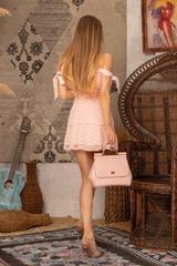 Girl on fire Рокля -  Light Pink - Изображение 7