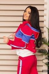 Get sporty пролетно яке - малина - Изображение 2