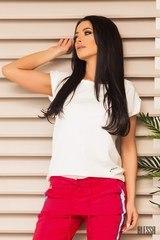 Universal Oversize T-shirt - бял