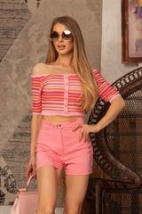 Exist Loudly Къс панталон - Pink - Изображение 1