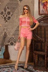 Exist Loudly Къс панталон - Pink - Изображение 3
