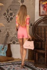 Exist Loudly Къс панталон - Pink - Изображение 5