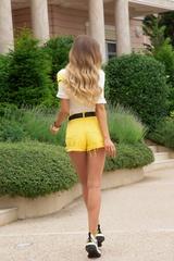 Just my type дънки - жълто