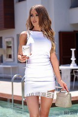 Illegal Beauty bodycon рокля