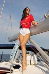 Top-Shelf T-Shirt - червена - Изображение 3