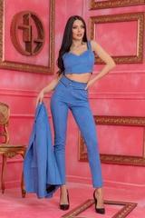 Barbie life doll дълъг панталон - Син - Изображение 2