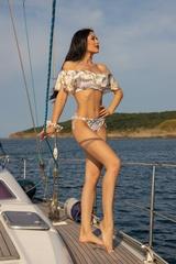 All I Want Is A Yacht Бански Бикини с ниска талия - Beige - Изображение 5