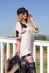 Top top girl рокля от меко плетиво - Изображение 4