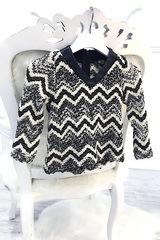 Ще се влюбиш детски пуловер от луксозно плетиво