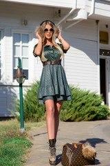 On the spotlight ruffles рокля - Изображение 11