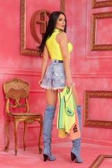 Steal Мy Style Топ - Жълт Неон - Изображение 7