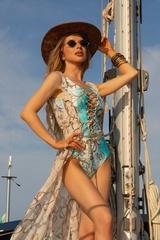 All I Want Is A Yacht Парео - Beige - Изображение 3