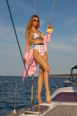 She Baller Бански Бикини С Висока Талия - pink - Изображение 3