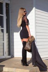 10 kinds of sexy рокля - черно