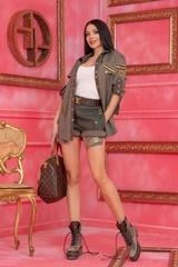 Brand New Me къс панталон - милитъри - Изображение 5