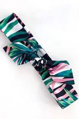 Лента за коса pink tropic - Изображение 1