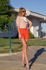 I make it hot кашмирен панталон - orange - Изображение 4