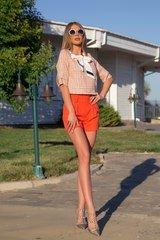 I make it hot кашмирен панталон - orange - Изображение 5