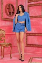 Barbie life doll Къс Панталон - Син - Изображение 3