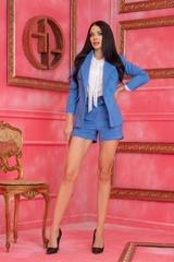 Barbie life doll Къс Панталон - Син - Изображение 8