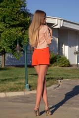 I make it hot кашмирен панталон - orange - Изображение 6