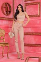 Barbie life doll дълъг панталон - Nude - Изображение 4