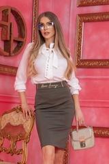 Sense of Style пола с подвижен колан - милитъри