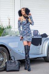 Affection bodycon рокля