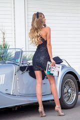 Cocktail hour bodycon рокля - черна