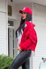 Million dollar baby яке - червено