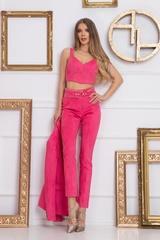 Barbie life doll дълъг Панталон - Pink - Изображение 2