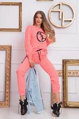 Keep your focus панталон - розов неон - Изображение 1