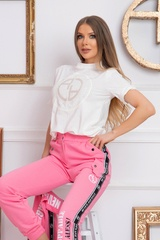 New Rules Спортен Панталон - Pink - Изображение 6