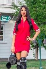Fun around me рокля в червено