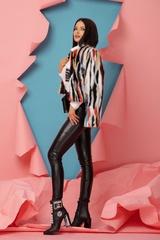 Fashion Killa Топло Палтенце От Еко Косъм - Flame Orange - Изображение 5
