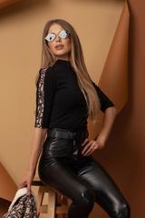 Dare to Dream Блуза Luxury - Черна - Изображение 3