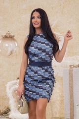 Blue Ellie рокля с ресни