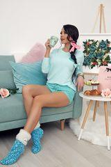 Cosy comfy Alessa чорапки - син меланж