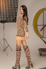 Alessa luxury рокля от плетиво