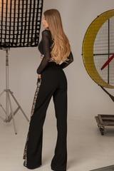 Alessa luxury панталон с широк крачол - Изображение 5