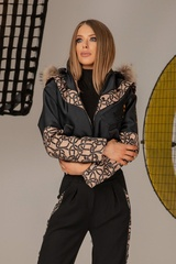 Alessa luxury зимно яке с подвижен топъл хастар - Изображение 7