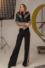 Alessa luxury панталон с широк крачол - Изображение 7